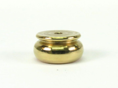 Brass Bun Foot 25mm